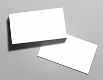 Business Card Mock-up Bundle Vol. 1