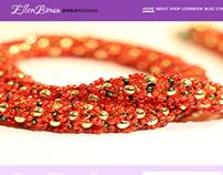 EB Jewelry Design Site Mock Idea