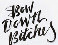 Beyonce Inspired Calligraphy