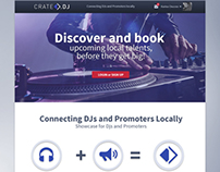 Crate.dj- Showcase for Djs and Promoters