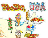 Summer Foods USA, Interactive Map for Zagat