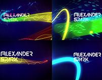 logo animation Alexander Spark