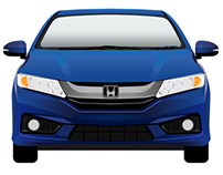 All New Honda City 2014 Vector Draft