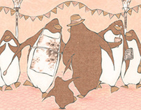 the party of penguins