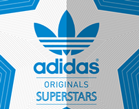 ADIDAS SUPERSTAR SHOE LAUNCH POSTER [India]