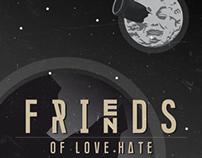 Friends Of Love+Hate 2014 - Flyer & Promotion Design
