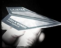 Flyer paper Plane - La jeteé