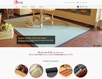 Website design for Babu coir woks