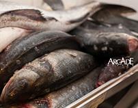 hal és kagyló(Arcadebistro)