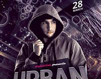 Urban Dubstep Flyer