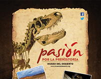 QUO/MUSEO DEL DESIERTO, Pasión por la prehistoria