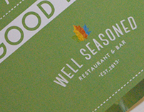 Well Seasoned, Restaurant & Bar. Branding & Identity