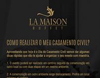 Newsletter La Maison