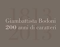 Calendar of Gianbattista Bodoni