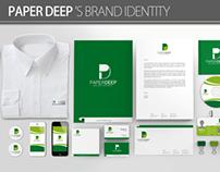 Paper Deep 's Brand Identity