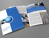 Company Brochure Bi-Fold Template Vol.18