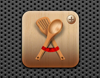 Cookbook+ iPad Icon
