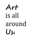 Art is all around us