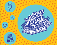 Axe Weirdass Pajama Comedy Festival 2014
