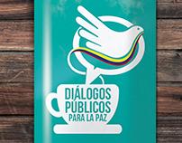 Logo Diálogos públicos para la paz
