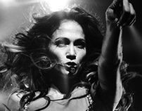 Jennifer Lopez in concert