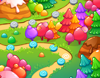 Candies Map