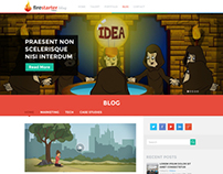 Design for FireStarterVideos + HWA website designs