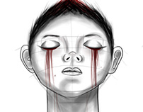 Perspective drawing: Bloody Tears (January 2014)