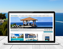 Islands Responsive Website