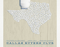 """Dallas Buyers Club"" minimalist movie poster"