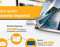Campanhas de e-mail marketing da Revista Vidro Impresso