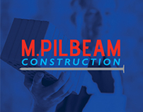M.Pilbeam Construction | Branding, Graphic Design & Web