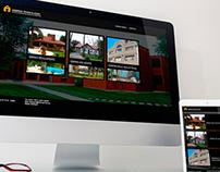 Diseño de Identidad Corporativa y web // Ambroa Tesan