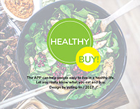 User Experience Design Project-HEALTHY BUY!