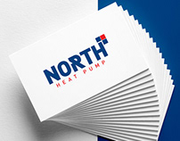 North | Heat Pump Logo Design