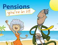 Pensions auto-enrolment - internal campaign