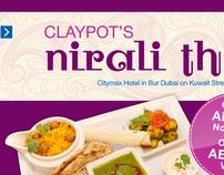 Nirali Thali Promotion - Citymax Hotel, Dubai, U.A.E.
