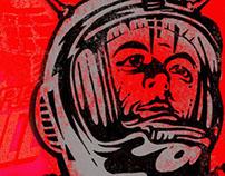 Space Cadet t-shirt design