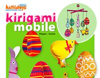 Kirigami - Easter