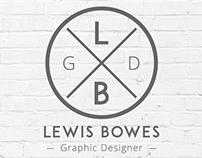 Lewis Bowes | Graphic Designer