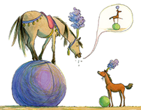 The circus foal.