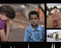 Syrian Children Suffer in Camps