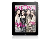 Metro Magazine Philippines Ipad App - August 2010