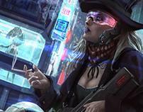 Cyberpunk Western