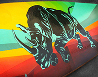 Handmade Longboard Graphics II