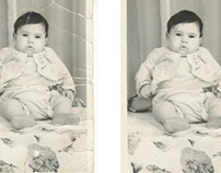 Fixing an Old Damaged Photo