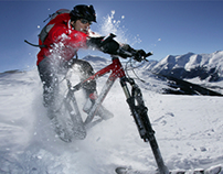 Ktrak Snow Bike Kit
