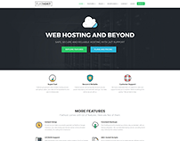 Flathost - Hosting Website Template - v4