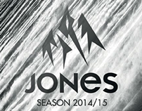 work: JONES SNOWBOARDS 2014/15