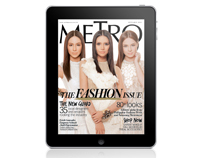 Metro Magazine Philippines iPad App - September 2010